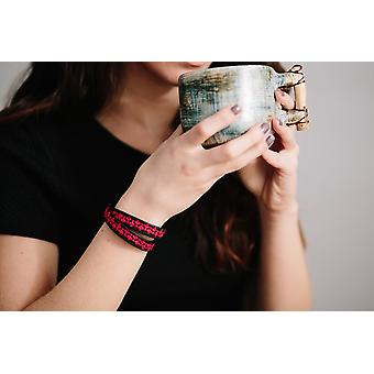 Læder Wrap armbånd