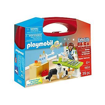 Playmobil 5653 City Life Collectable små Vet bärväska