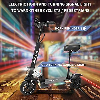 Right Choice Electric Scooter, E-scooters With Seat Fast, 800W, Max Speed 45km/h, 40km, Foldable Electric Scooter with LCD display 10Ah Li-Ion battery, Foldable E-Scooter for Teenager and Adults