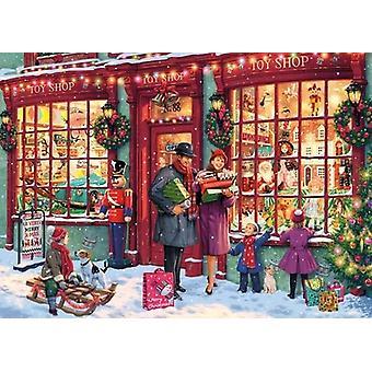 Gibsons Puzzel Kerst Speelgoedwinkel 1000 stuks