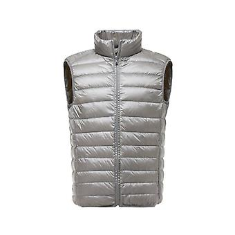 New Arrival Men Sleeveless Jacket Winter Ultralight Duck Down Male Slim