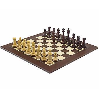 De Eminence Rosewood Palisander Deluxe schaakstukken