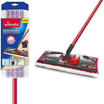 Vileda Ultramax Sensitive Flat Cleaning Broom