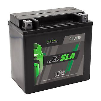 intAct YTX14-BS / 51214 Sealed Activated SLA Bike-Power Battery