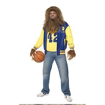 Mens في سن المراهقة الذئب زي هالوين يتوهم اللباس Warewolf