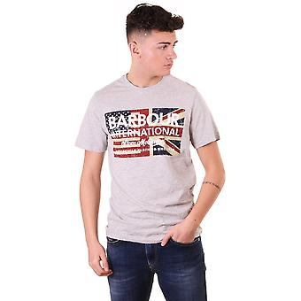 Barbour International Steve Mcqueen Vintage Flag Tee