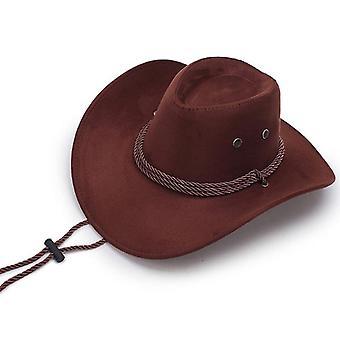 Summer Shade Light Caps Men's American Wind Western Cowboy Knight Outdoor Visor