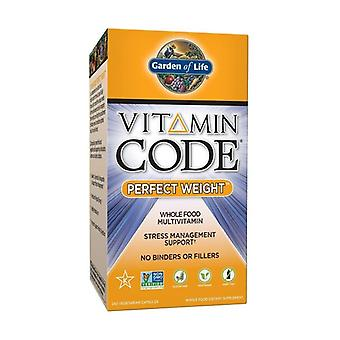 Vitamin Code perfect Weight 240 vegetable capsules