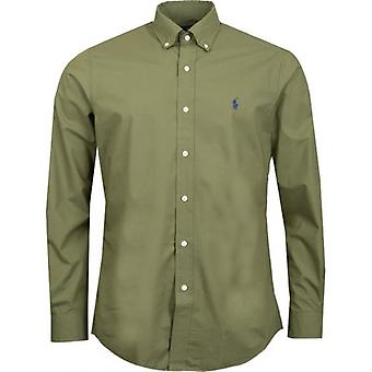 Polo Ralph Lauren langärmelige Baumwolle Poplin Shirt