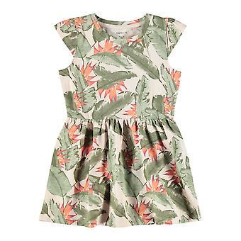 Name-it Girls Dress Fibloom Cap Peach Whip