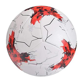 Soccer Ball Standard Size Machine-stitched Pu Material Sports League Match