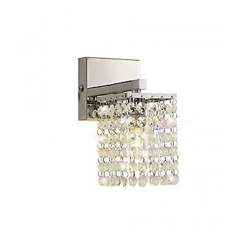 Lámpara De Pared Amant 1 Luz Cromo Pulido