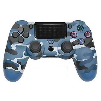 PS4 Blue Camo Control Wireless Game Console Dual Shock Controller Bluetooth Compatible For Sony PS4 Playstation 4