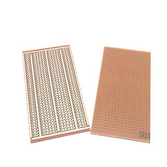 Universelles Experiment Matrix Leiterplatte mit zwei Löchern drei verbundenes Loch