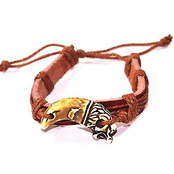 Dragon Tooth Leather Bracelet