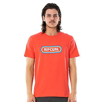 Rip Curl Hombres's Camiseta ~ Surf Revival Cayenne