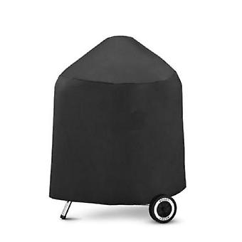 Round Waterproof Barbecue Cover Rainproof And Uv Protective Cover