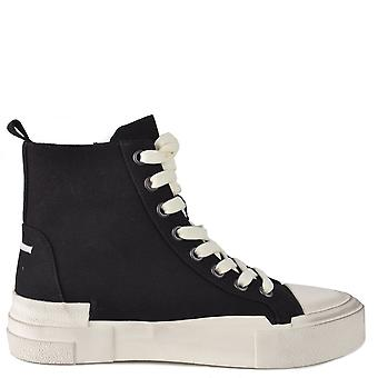 Ash GHIBLY Black Canvas Trainers
