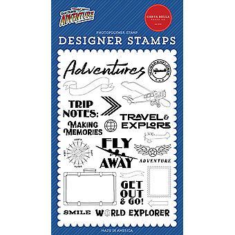 Carta Bella World Explorer selkeät postimerkit