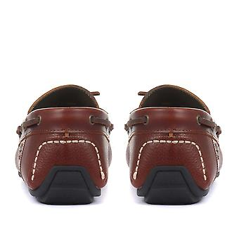 Barbour Mens Clark Leather Driving Shoes