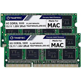 HanFei Hynix IC 16GB Kit (2x8GB) DDR31600MHz PC3-12800 SODIMM Speicher Upgrade für Mac 16GB Kit (2x8GB)