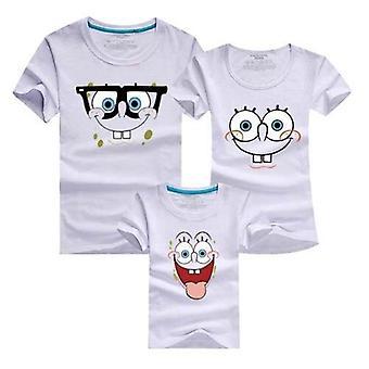 Familie kleding, moeder en dochter vader T-shirt