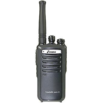 Stabo Freetalk Com II portable PMR radio station, 16 channels, CTCSS, DCS, Squelch, 1 pc 20260