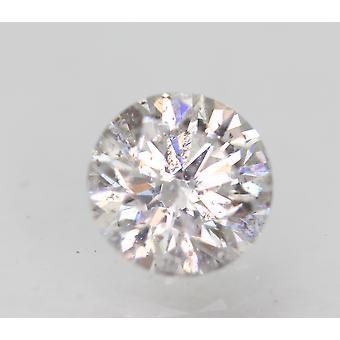 Sertifioitu 0,70 karat G SI1 pyöreä brilliant parannettu luonnon timantti 5.64mm 3VG