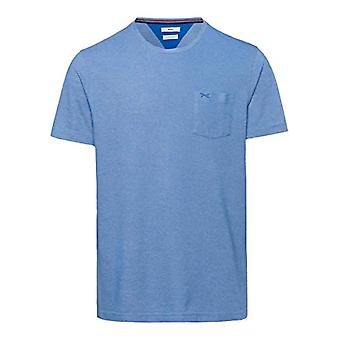 BRAX Todd Easy Care pique T-Shirt, Blu (Imperial 26), Large Uomo