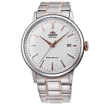Orient Miesten automaattinen analoginen kello ruostumattomasta teräksestä valmistettu hihna RA-AC0004S10B