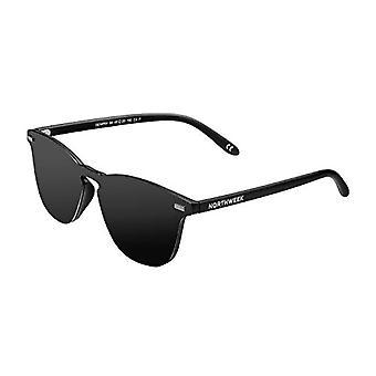 Northweek Wall Phantom Sunglasses, Black, 136.0 Unisex-Adult