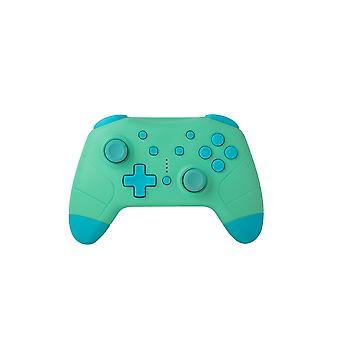 Unter Steuerung Nintendo Switch - Wireless Bluetooth Controller - Grün mit Blau