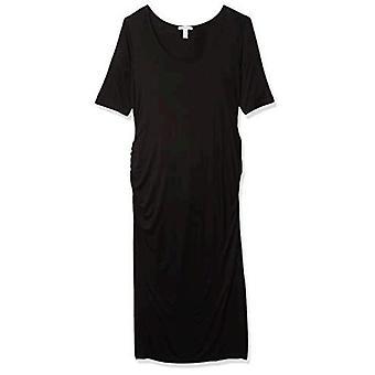 Brand - Daily Ritual Women's Maternity Elbow-Sleeve Dress