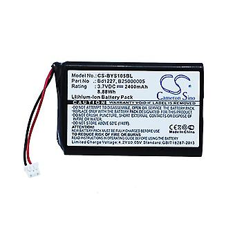 Cameron Sino Bys105Bl Battery Replacement For Baracoda Barcode Scanner