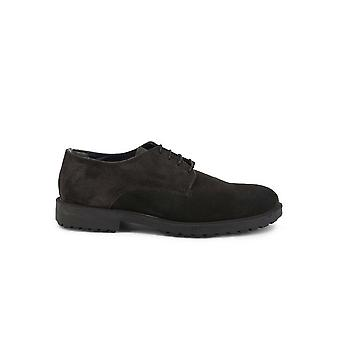 Duca di Morrone - Shoes - Lace-up shoes - O58D-CAMOSCIO-GRIGIO - Men - dimgray - EU 44