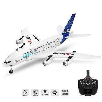 Airbus Model Uzaktan Kumanda Uçağı, Uçak Sabit Kanatlı, Rtf Rc Kanat Açıklığı Oyuncak