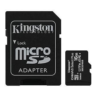 Kingston 32GB Canvas Select Plus Micro SD karta s adaptérem SD, UHS-I Třída 10 s výkonem aplikace A1