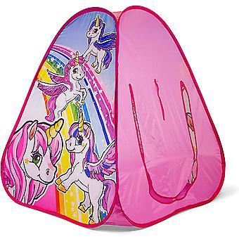 Unicorn Pop Up Tent (Pink)