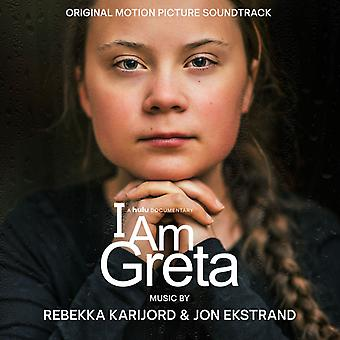 Rebekka Karijord & Jon Ekstrand - I Am Greta (Original Motion Picture Soundtrack) Vinyl