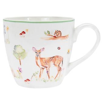 Woodland Wildlife Breakfast Mug