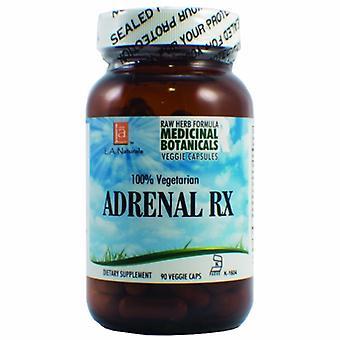 L. A .Naturals Adrenal RX Raw Formula, 90 Veg Caps