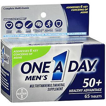 One-A-Day One A Day Men's 50+ Healthy Advantage Multivitamin - Multimineral Tablets, 65 Tabs