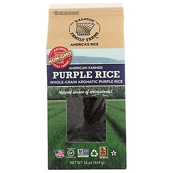 Ralston Family Farms Rice Purple, Case of 6 X 16 Oz