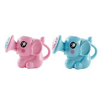 2pcs漫画のお風呂のおもちゃ象の散水は、赤ちゃんの幼児のためのおもちゃを振りかけるシャワーすることができます