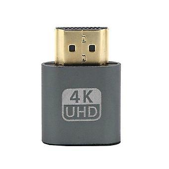 Vga hdmi-compatible con dummy plug adaptador emulador de pantalla virtual ddc edid soporte 1920x1080p para la tarjeta de vídeo btc minero minero