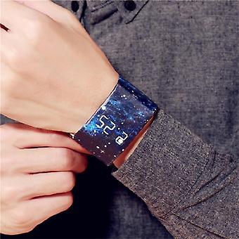 Wasserdichtes Armband Papieruhr Gut aussehende Led-Uhr Kreatives Digitales Papier