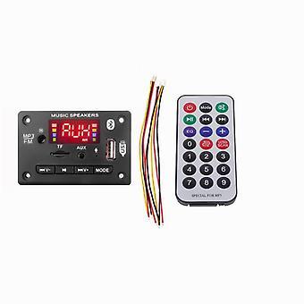Handsfree Player Decoder Board, Bluetooth Car Fm -radiomoduulin tuki