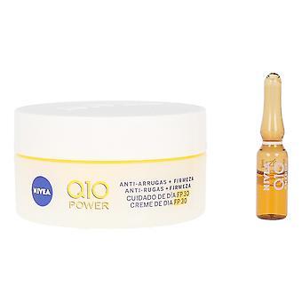 Unisex Cosmetic Set Nivea Q10 SPF 30 (2 pcs)