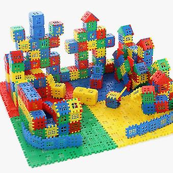Lasten rakennuspalikat opettavaisia 3D-leluja