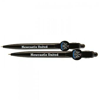 Newcastle United FC Crest Retractable Pen (Pack of 2)